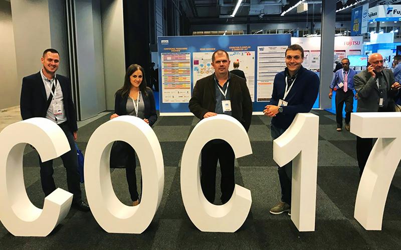 TELEMAX tim posjetio ECOC konferenciju